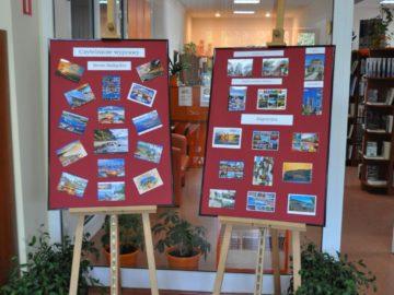 wystawa kartki z wakacji